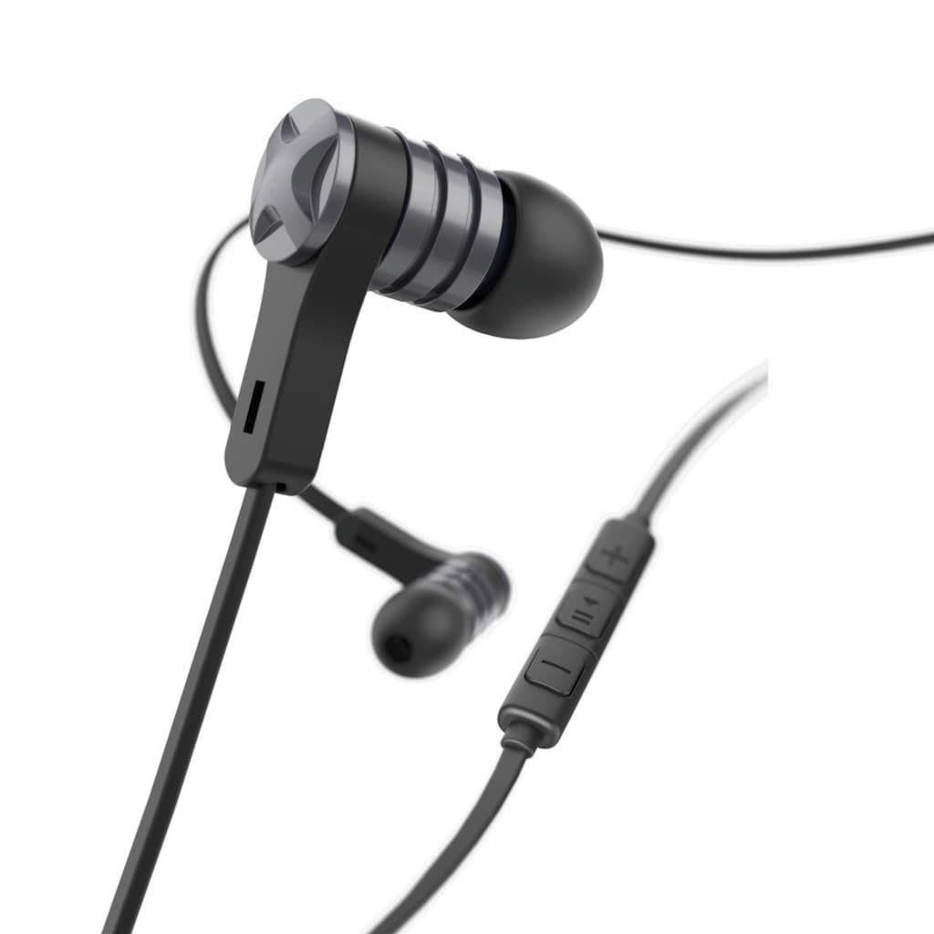 Hama In Ear Ohrhörer, Headset mit Mikrofon