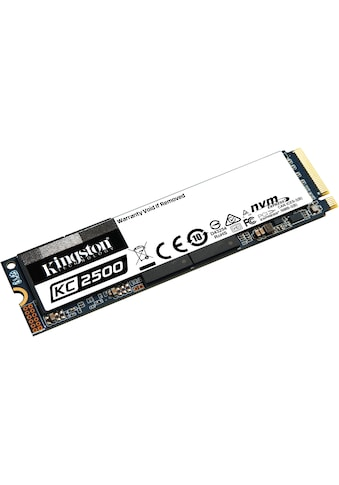 Kingston SSD »KC2500 NVMe PCIe« kaufen