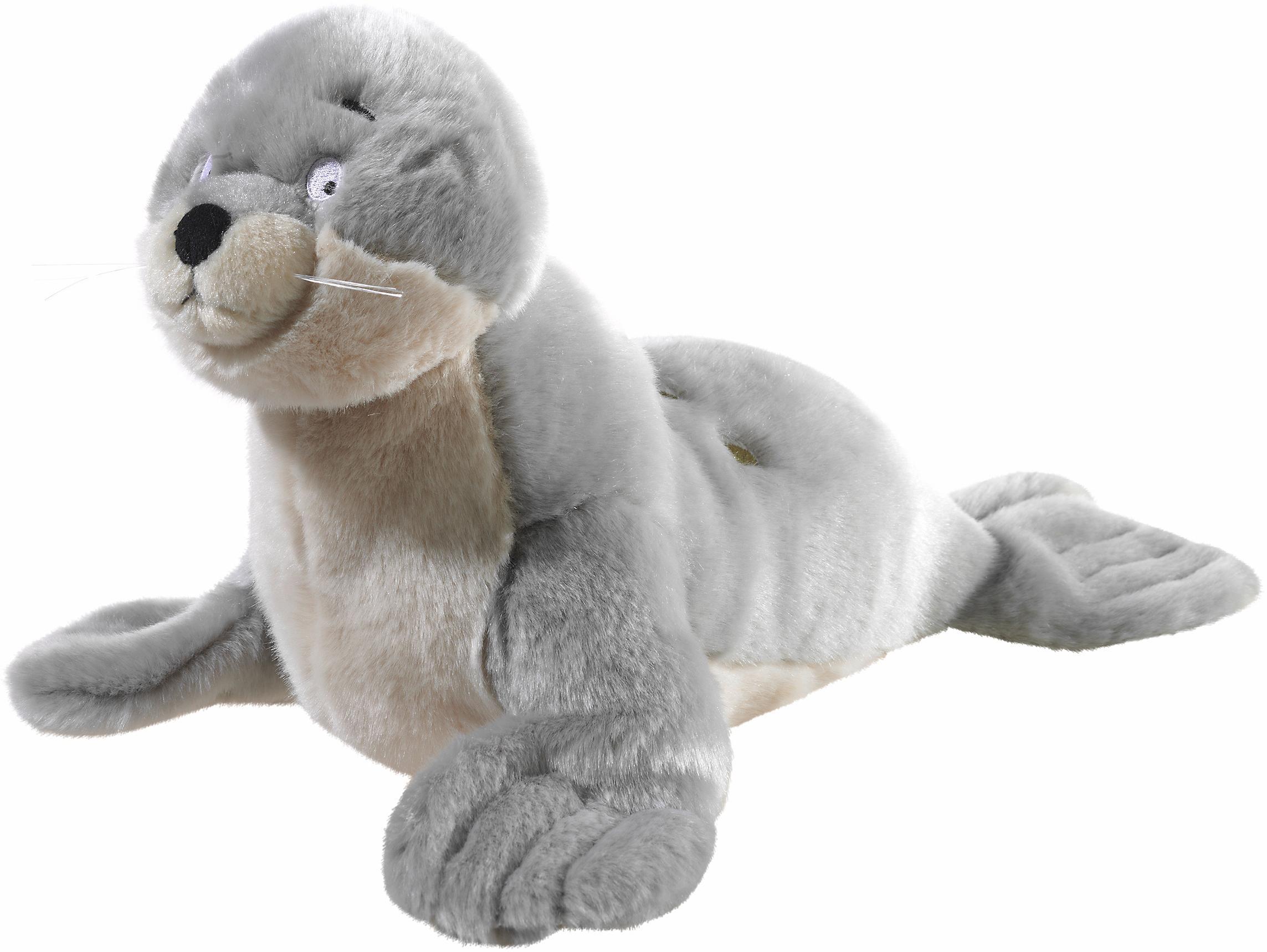 Heunec Plüschtier Robbe, »Kleiner Eisbär, Robby, 25 cm« | Bekleidung > Bademode > Bademäntel | Mehrfarbig | Ab | HEUNEC