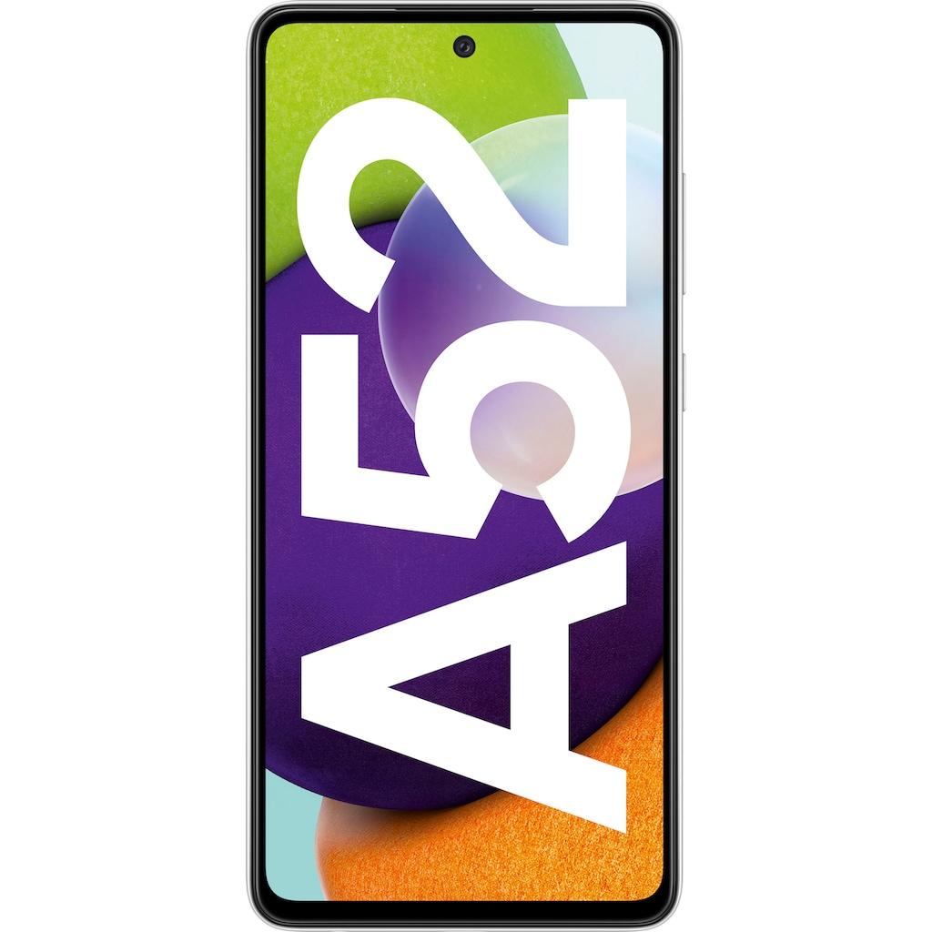 "Samsung Smartphone »Galaxy-A52«, (16,4 cm/6,5 "", 128 GB Speicherplatz, 64 MP Kamera)"