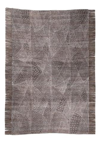 DIE HAUSKUNST Teppich »Chiya Tiama 2«, rechteckig, 4 mm Höhe, Flachgewebe, handgewebt,... kaufen