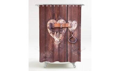 Sanilo Duschvorhang »Türschloss«, Breite 180 cm kaufen