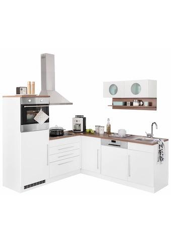 Winkelküche »Keitum«, ohne E - Geräte, Stellbreite 200 x 220 cm kaufen