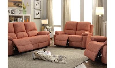 Home affaire 2-Sitzer »Marina«, mit Relaxfunktion und Federkern-Polsterung kaufen