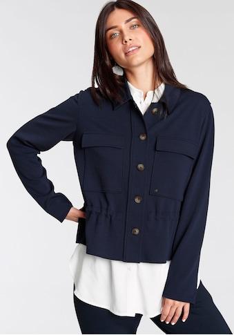 Betty&Co Kurzjacke, mit kontrastfarbenen Knöpfen kaufen
