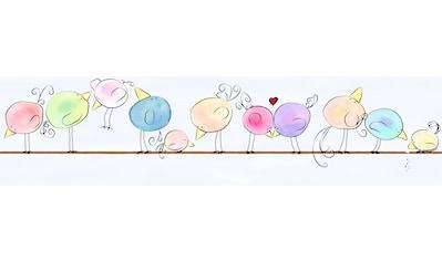 Bordüre »Funny Birds«, für Baby -  und Kinderzimmer, selbstklebend, PVC - frei kaufen