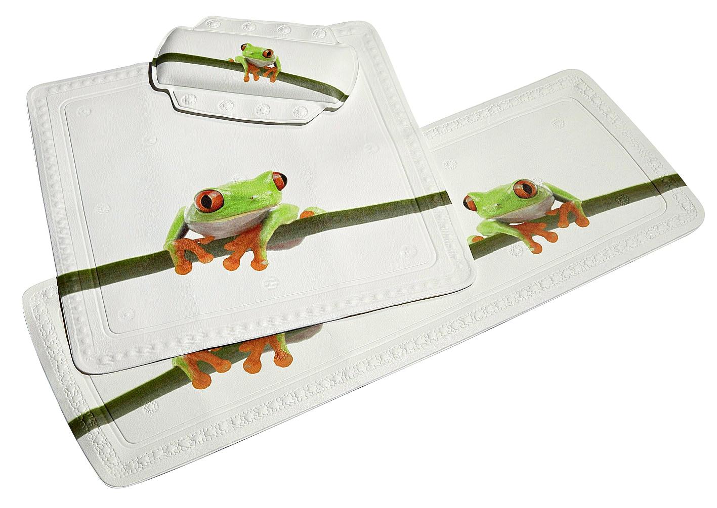 KLEINE WOLKE Wanneneinlage »Frog«, 92 x 36 cm günstig online kaufen