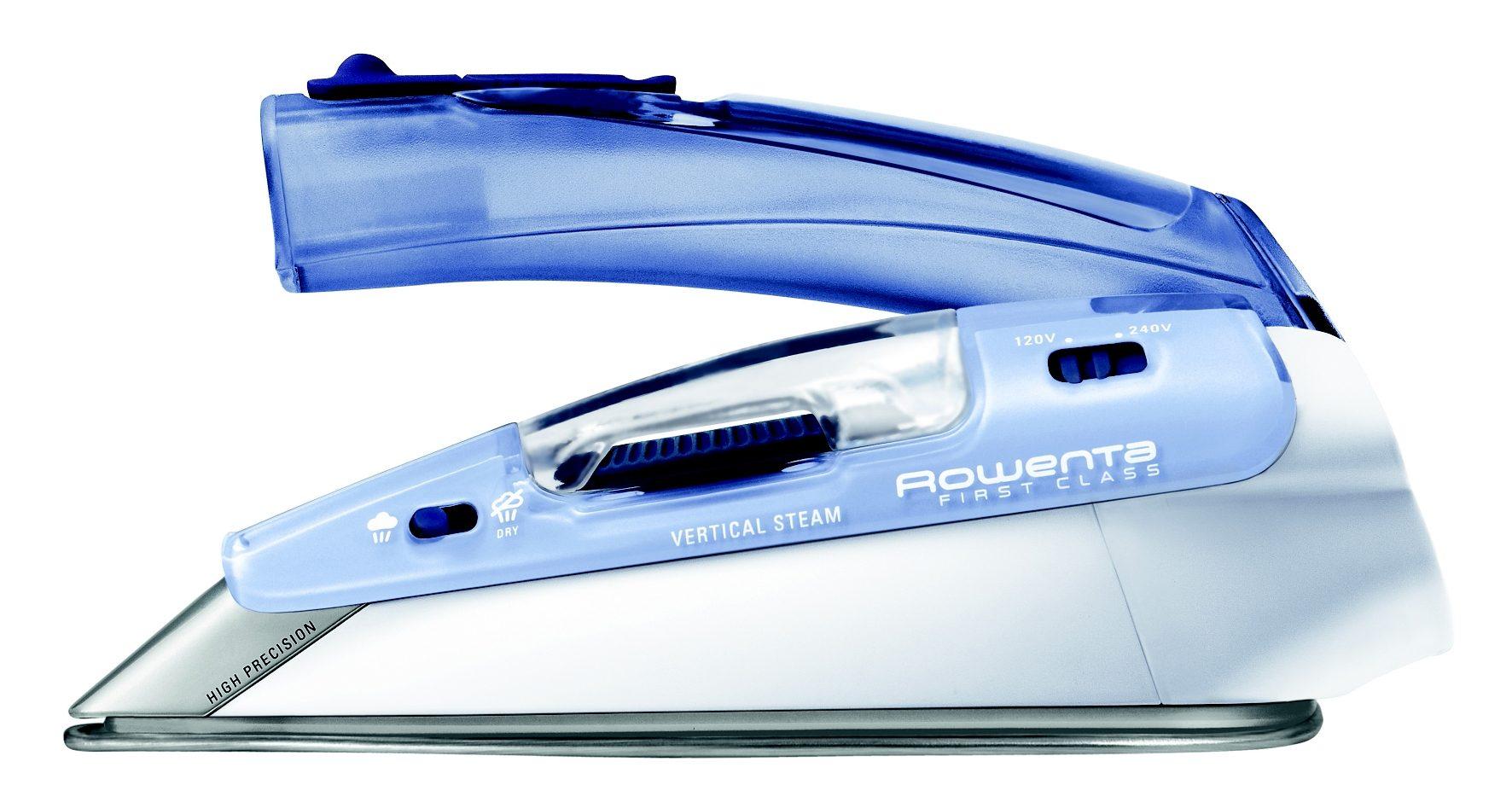 Rowenta Reise-Dampfbügeleisen DA1510 mit Dampffunktion, 1000 Watt | Flur & Diele > Haushaltsgeräte > Bügeleisen | Blau | ROWENTA