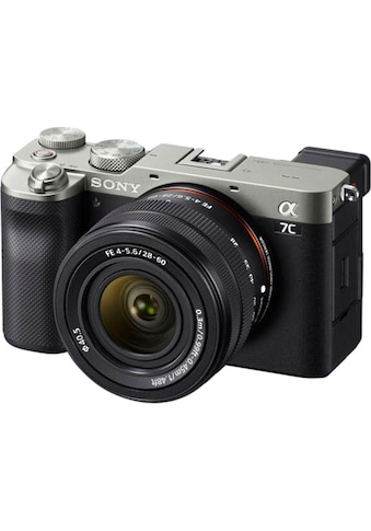 Sony Vollformat-Digitalkamera »ILCE-7CLS - Alpha 7C E-Mount mit SEL2860«, FE 28–60 mm... kaufen