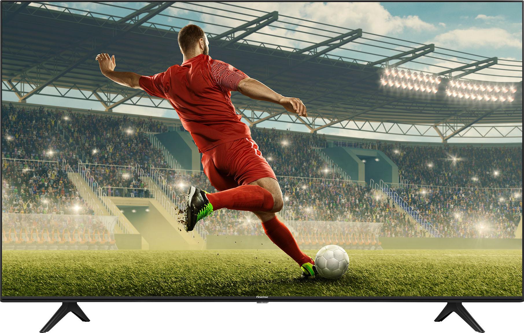 Hisense LED-Fernseher 43AE7010F , 108 cm 43 , 4K Ultra HD, Smart-TV, 4K Ultra HD