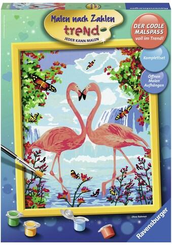 Ravensburger Malen nach Zahlen »Flamingo Love«, Made in Europe, FSC® - schützt Wald - weltweit kaufen