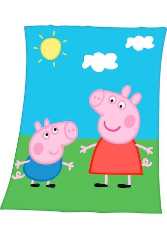 Kinderdecke »Peppa Pig«, mit tollem Peppa Pig Motiv kaufen