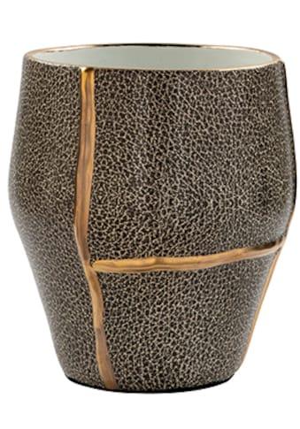 Fink Dekovase »FAVORA«, aus Porzellan, Übertopf mit Echtgold-Dekor kaufen