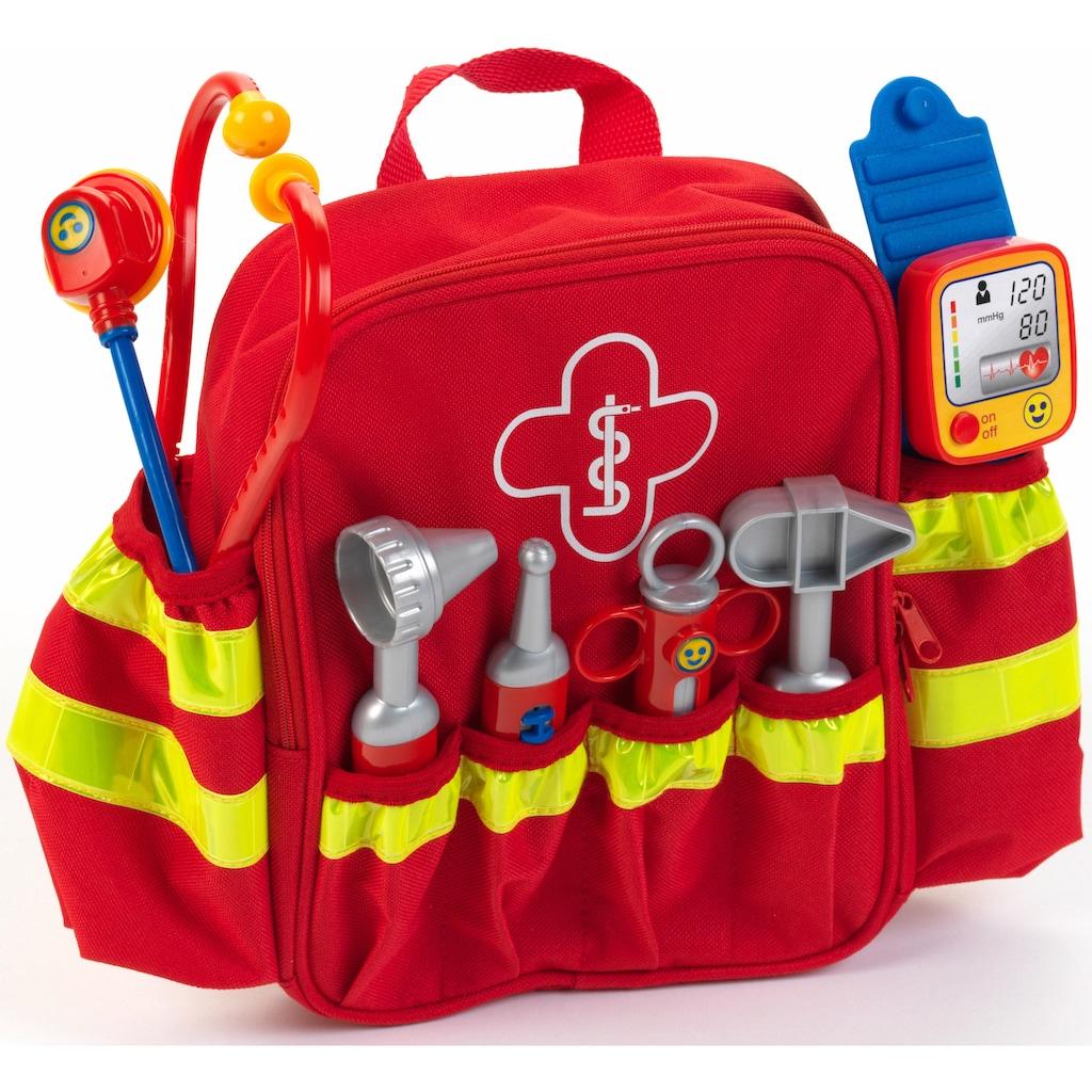 Klein Spielzeug-Arztkoffer »Rescue Backpack«