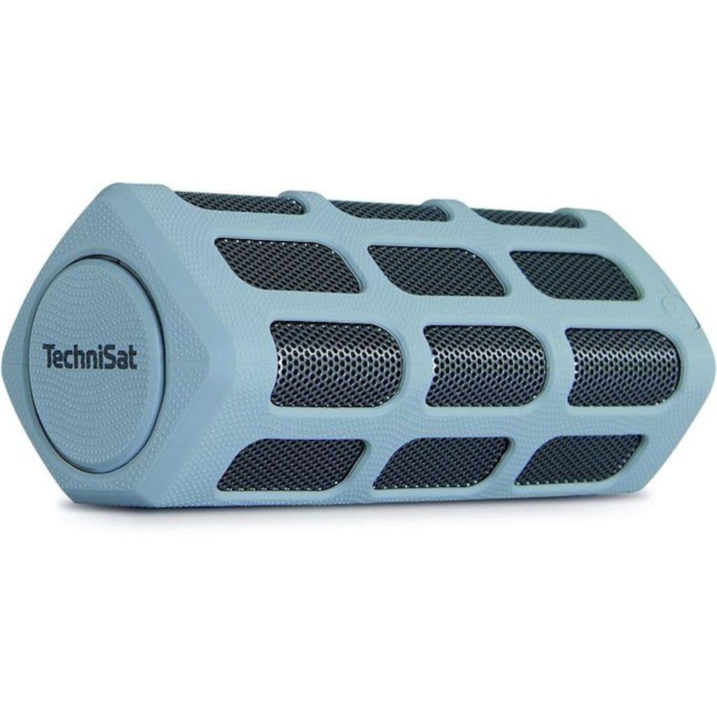 TechniSat Bluetooth-Lautsprecher mit Powerbank »BLUSPEAKER OD 300 grau«
