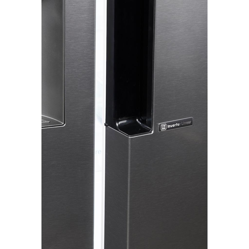 LG Side-by-Side, GSL361ICEZ, 179 cm hoch, 91,2 cm breit
