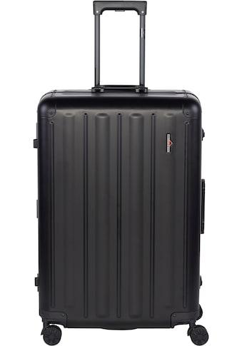 Hardware Hartschalen-Trolley »PROFILE PLUS ALU L, black«, 4 Rollen kaufen