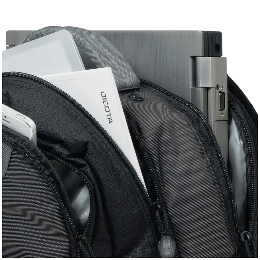 """DICOTA Notebook-Rucksack »Backpack Mission XL 15-17.3""""«"""