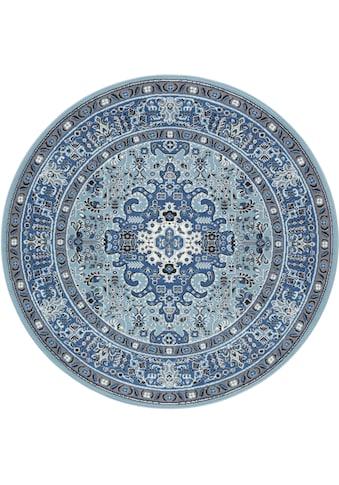 NOURISTAN Teppich »Skazar Isfahan«, rund, 9 mm Höhe, Kurzflor, Orient-Optik, Wohnzimmer kaufen