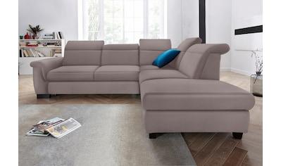 DOMO collection Ecksofa »Sully Top«, wahlweise mit Bettfunktion und Rückenverstellung kaufen