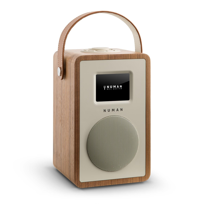 NUMAN Design Internetradio WLAN DLNA Stream Bluetooth DAB/DAB+ Radio »Mini  Two«