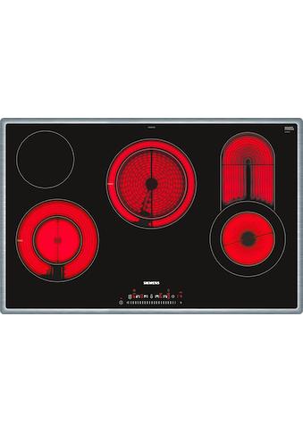 SIEMENS Elektro - Kochfeld von SCHOTT CERAN® iQ300 ET845FCP1D kaufen