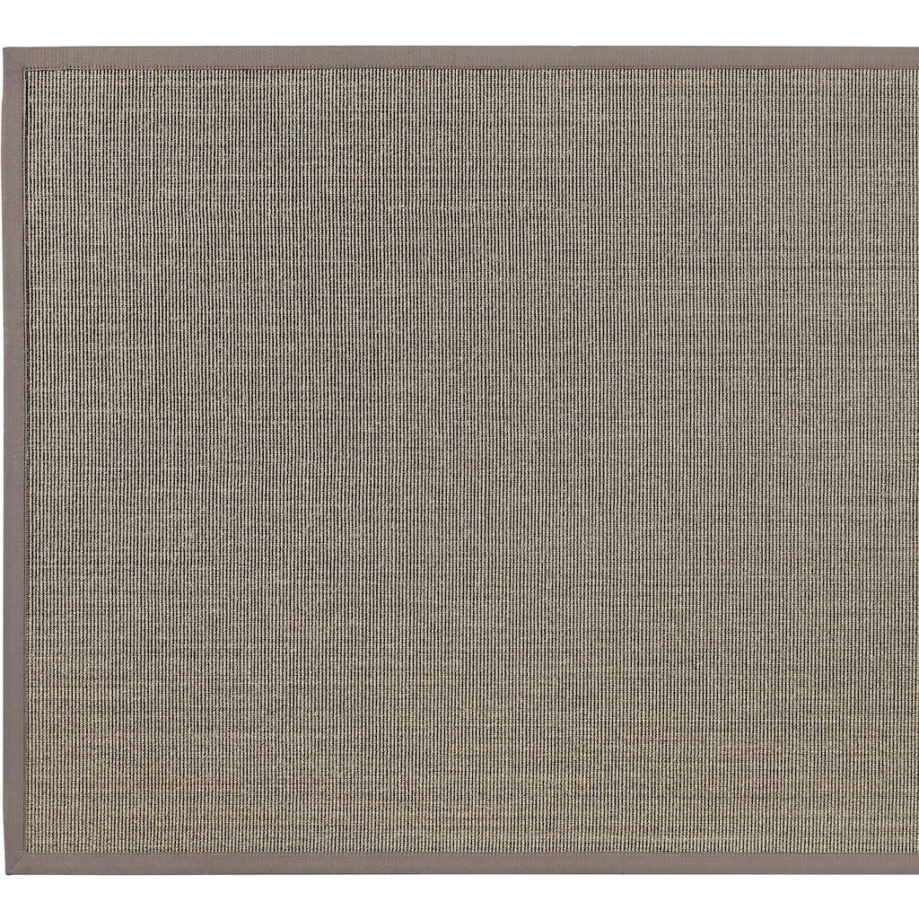 Dekowe Läufer »Mara S2 mit Bordüre«, rechteckig, 5 mm Höhe, Teppich-Läufer, Flachgewebe, Obermaterial: 100% Sisal, Flur