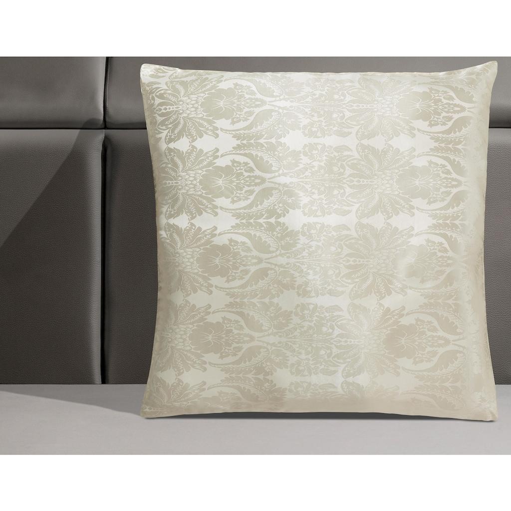 RIBECO Kunstfaserkopfkissen »Senna«, Füllung: 100% Polyester, Bezug: Polyestergewebe, (1 St.), hochwertigem Muster
