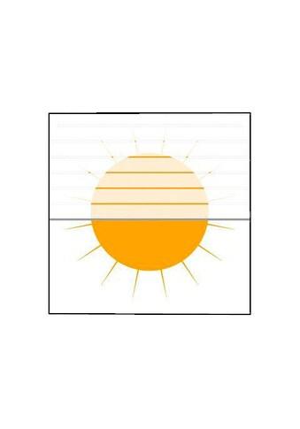 Plissee nach Maß, »Medoc«, sunlines, Lichtschutz, mit Bohren, verspannt kaufen