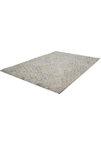 Lederteppich, »Spark 110«, Kayoom, rechteckig, Höhe 8 mm, handgewebt kaufen