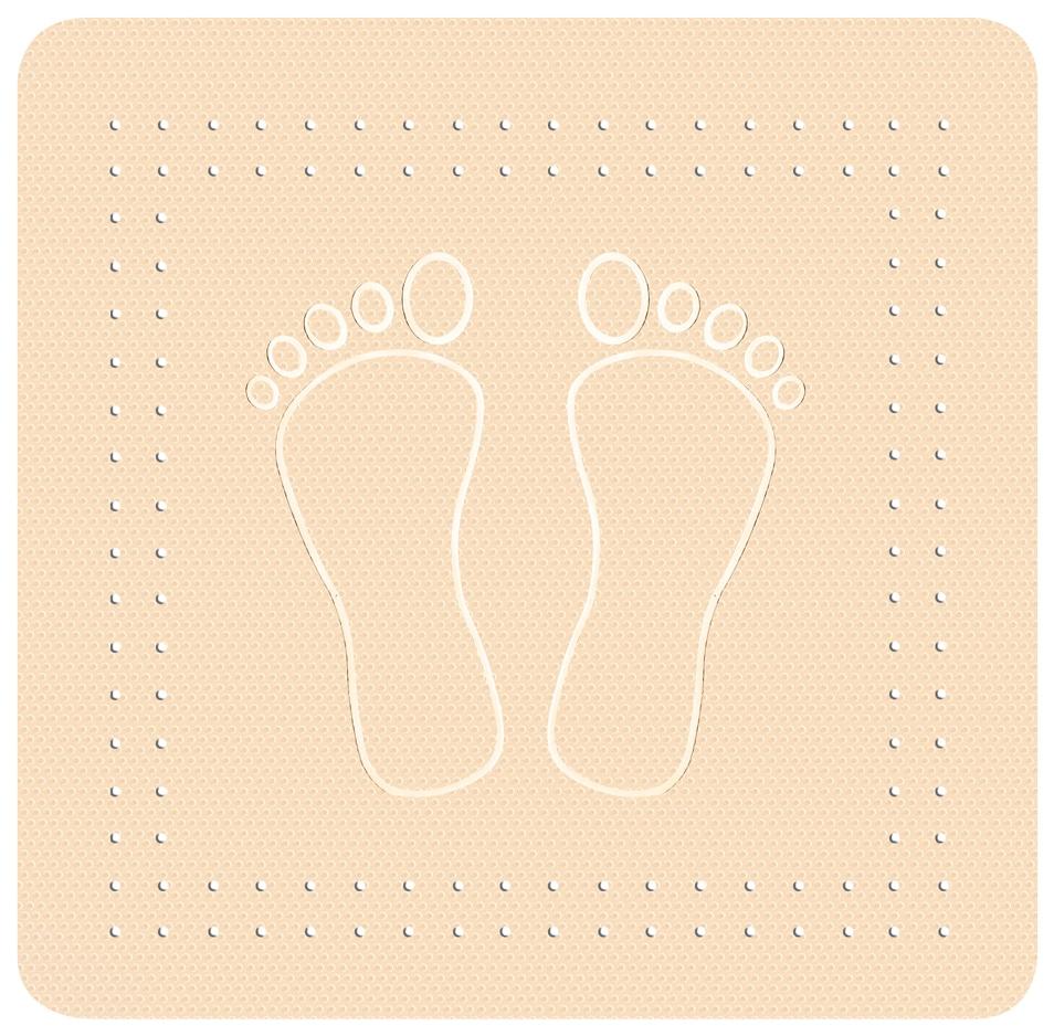 KLEINE WOLKE Wanneneinlage »Foot« günstig online kaufen