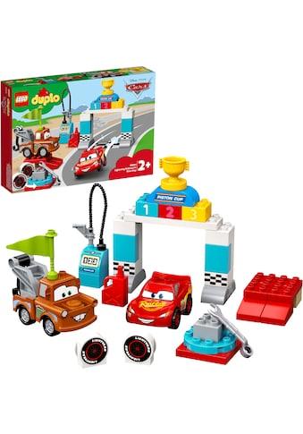 "LEGO® Konstruktionsspielsteine ""Lightning McQueens großes Rennen (10924), LEGO® DUPLO® & Disney Cars™"", Kunststoff, (42 - tlg.) kaufen"