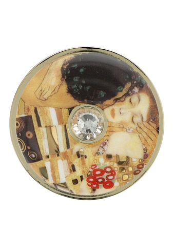 Goebel Brosche »Der Kuss, Gustav Klimt, 67045381«, mit Glasstein kaufen