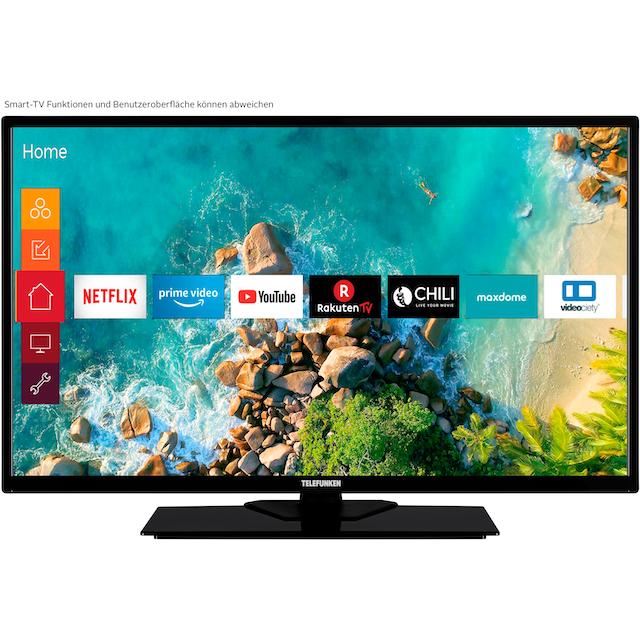 Telefunken D32F553M1CW LED-Fernseher (80 cm / (32 Zoll), Full HD, Smart-TV