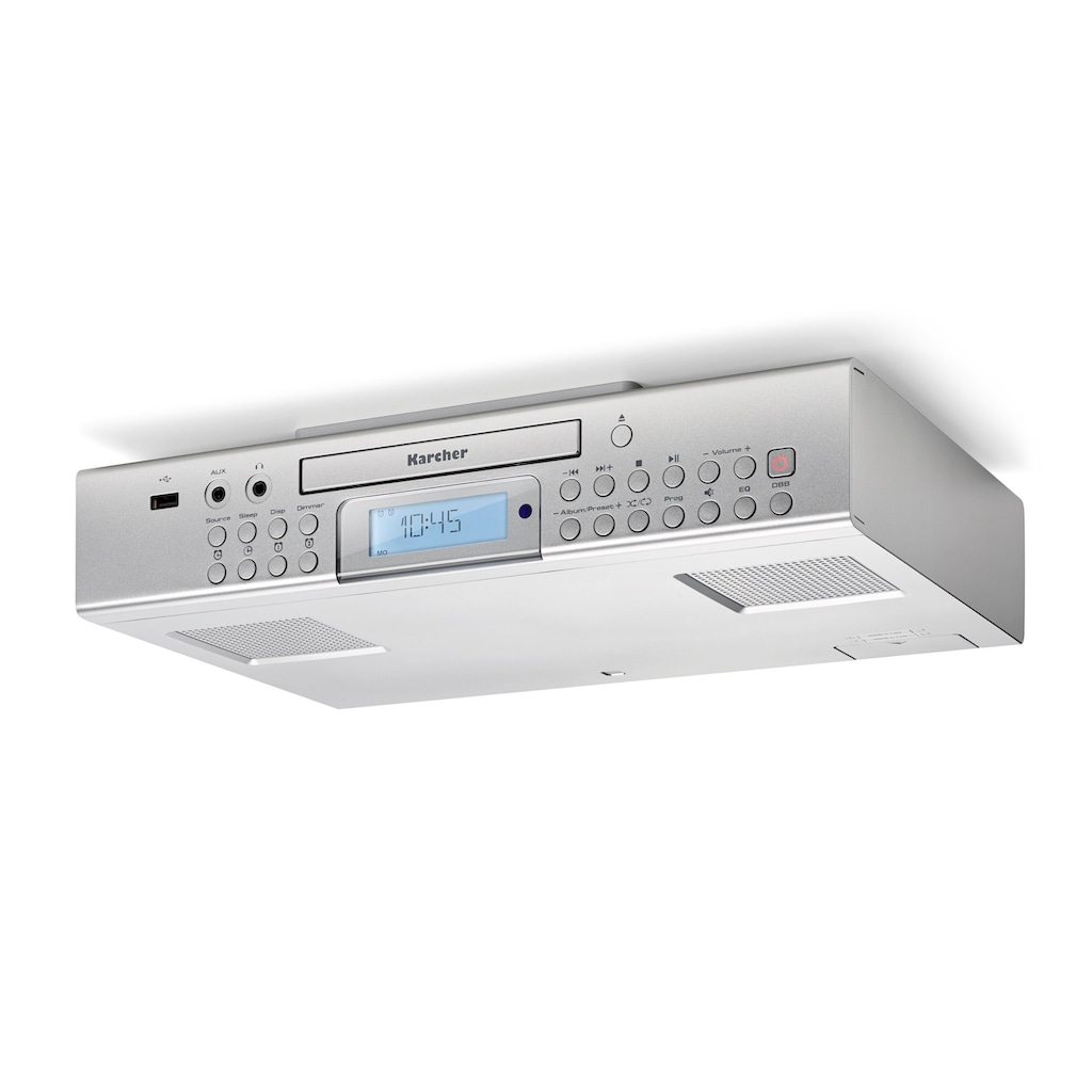 Karcher Küchen-Radio »RA 2050«, (CD 1.5 W)