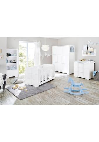 Pinolino® Babyzimmer-Komplettset »Polar«, (Set, 3 St.), breit groß; mit Kinderbett,... kaufen