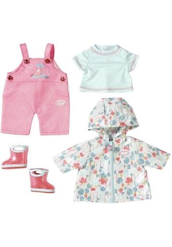 """Baby Annabell Puppenkleidung """"Deluxe Regen Set"""", (Set, 5 - tlg.) kaufen"""