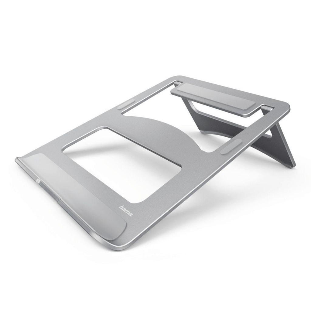 Hama Notebook-Stand Aluminium, Silber