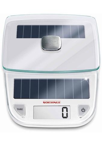 """Soehnle Küchenwaage """"Easy Solar"""", (2 - tlg.) kaufen"""