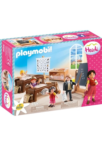 Playmobil® Konstruktions-Spielset »Schulunterricht im Dörfli (70256), Heidi«, (44... kaufen