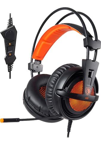 Sades Gaming-Headset »A6«, Kompatibel mit PS4, PS5, Xbox One, Xbox Series X/S und... kaufen