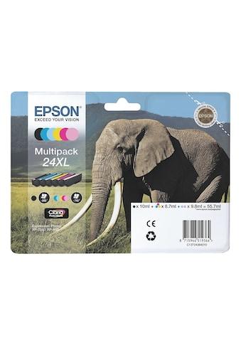 Epson Tintenpatronen - Set Nr. 24XL »T24384010« kaufen