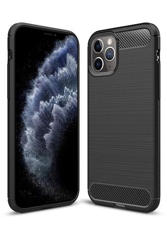 PEDEA Handytasche »Carbon Look Case für Apple iPhone 11 Pro« kaufen