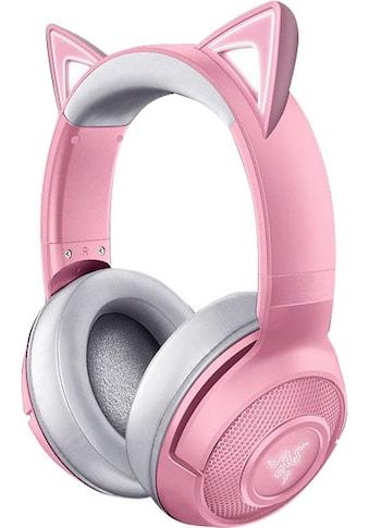 RAZER Kopfhörer »Kraken BT Kitty Edition - Quartz«, Bluetooth, Rauschunterdrückung kaufen