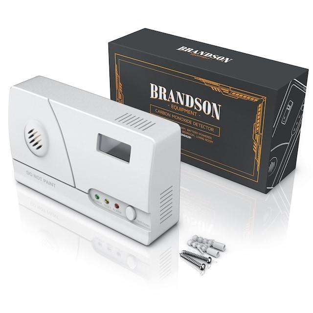 Brandson Kohlenmonoxidmelder, LCD-Display, Langzeitmessung »CO Melder mit Figaro-Gassensor«