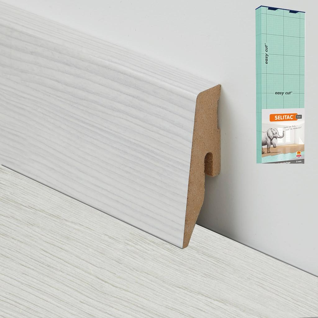 BODENMEISTER Spar-Set: Laminat »Dielenoptik Eiche weiß«, 1376 x 193 mm, Stärke: 7mm