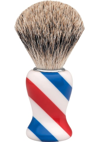 ERBE Rasierpinsel »M«, Dachshaar, Barbershop Design/Stripes kaufen