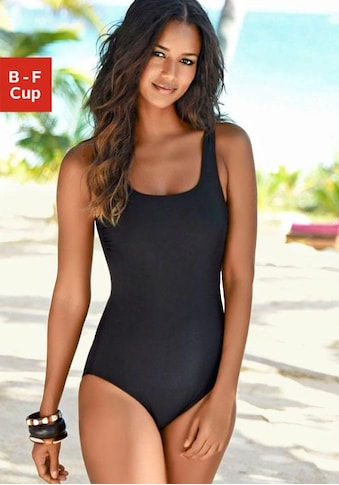 LASCANA Badeanzug, mit gekreuzten Bändern im Rücken kaufen