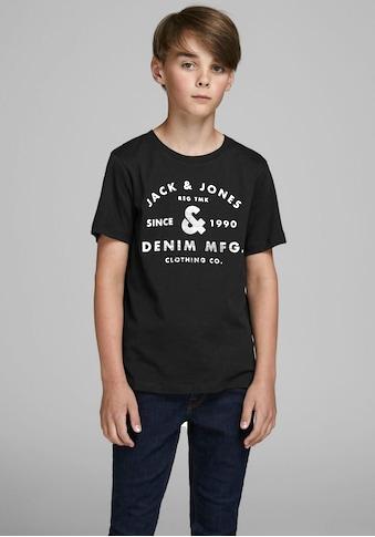 Jack & Jones Junior T - Shirt »JJEJEANS TEE SS CREW NEC« kaufen