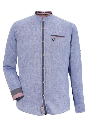 Krüger Buam Trachtenhemd im Denim Look kaufen